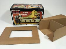 brand new rotj jabba the hutt playset box + inserts