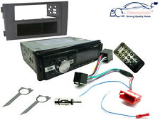 AUDI a6 01-04 unità di testa stereo auto Radio, Bluetooth porta USB mp3 SD, Kit Fascia