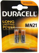 2 x Duracell MN21 A23 23A LRV08 12V Alkaline Batteries