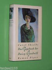 Das Tagebuch der Daisy Goodwill - Carol Shields - 1995 Piper Geb. (50)