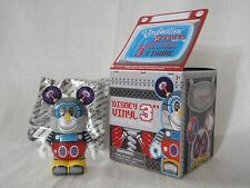 """2012 Disney Vinylmation Robots #3 Robot MICKEY MOUSE BOT WITH QR CODE 3"""" Figure"""