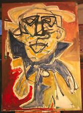 """Gemälde Öl auf Leinwand, """"Alter Mann"""""""