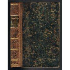 TRAITTÉ de la SITUATION du PARADIS TERRESTRE par Pierre-Daniel HUET + CARTE 1691