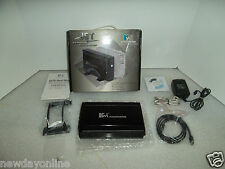 "Kingwin Jet Aluminum 3.5"" eSATA USB 2.0 External Hard Drive Enclosure JT-35EU-BK"