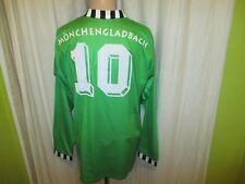 "Borussia Mönchengladbach asics Langarm Trikot 92/93 ""trigema"" + Nr.10 Gr.XL TOP"