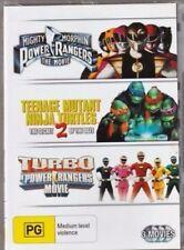 Mighty Morphin Power Rangers / Teenage Mutant Ninja Turtles 2 / Turbo (DVD, 2010