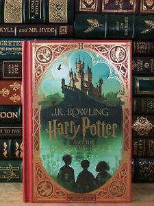 ✍SIGNED✍ Harry Potter and the Philosopher's Stone: New, 1st Minalima UK Edition