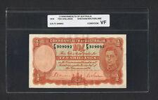1939 Ten Shillings Banknote AUSTRALIA