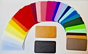 24 Business Cards Place Cards,,32 colours  Rounded Corners Multi-Buy Disc