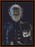 PINHEAD cross stitch pattern PDF (point de croix) (Hellraiser)