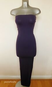 WOLFORD FATAL DRESS 50706, IN NIGHTSHADE, SIZE XS, UK 6-8, USA 4-6, BNWT