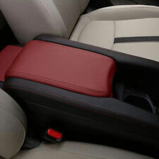 For Honda Civic 2016-18 Console Armrest Storage Box Shell PU Leather Cover Trim