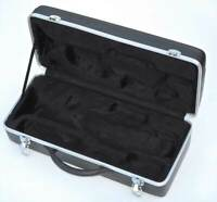 NEW DURABLE LIGHTWEIGHT HARD SHELL Bb TRUMPET CASE FOR STANDARD SIZE TRUMPETS