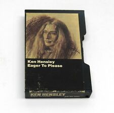 Ken Hensley - Eager To Please 1975 Warner BRONZE WB M5 2863 Cassette Uriah Heep