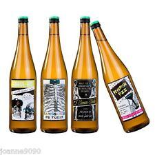 Skeleton Crew Fiesta De Halloween Botella de bebida Etiquetas espeluznante Novedad la Decoración del Hogar