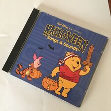 CD Halloween Sound Effects FX SFX Songs & Sounds Winnie The Pooh Disney Tigger