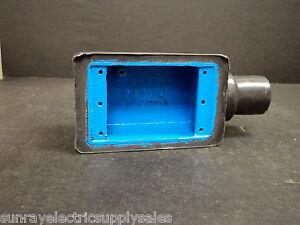 OCAL Thomas&Betts FS3-G Gray Shallow Coated Deadend Device Box  NEW