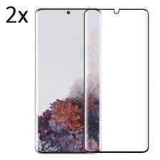 2x 3D Panzerfolie für Samsung Galaxy S8 S9 S10 S20 Plus Ultra Nanoglas Schutz