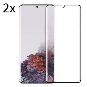 2x 3D Panzerfolie für Samsung Galaxy S8 S9 S10 S20 FE S21 Plus Nanoglas Schutz