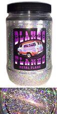 1lb Blakes Metal Flake .025 Alpha Silver bright Hot Rod Custom Automotive