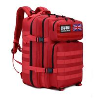 CORE Crossfit Tactical Backpack Red Gym Bag Athlete