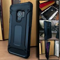 Samsung Galaxy S9 Rugged Reinforced Protective Case Black Shockproof  X121™
