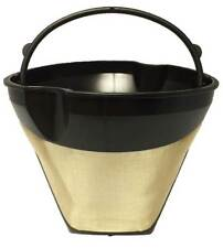 Cone Shaped Permanent Coffee Filter with Finger Grips for Braun Coffeemakers
