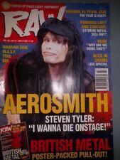 RAW  MUSIC  MAGAZINE 135 OCT 27-NOV9 1993 AEROSMITH