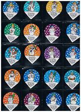 KRD CH Serie  Nr. 82 A Schneemänner aus aller Welt Riegel
