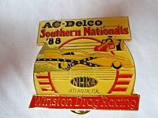 NHRA 1988 AC-Delco Southern Nationals Winston Drag Racing Event Pin