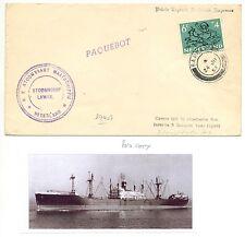 NEDERLAND-S.M.N. 1953  = S.S. LAWAK  =FROM BAHRAIN  + DOC...