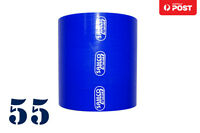 """Silicone Straight Coupler Hose intercooler 55mm (2.15"""") 2.15 inch 3-ply"""