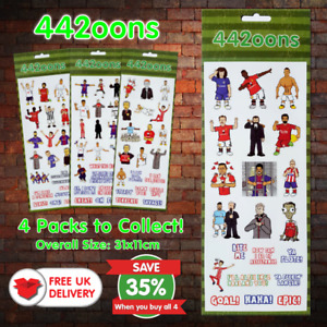 Fun Stickers 442oons Football Pack A