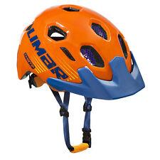 Limar Champ Youth Bike Helmet Orange Blue Medium