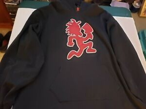 ICP HATCHETMAN EMBROIDERED BLACK HOODIE PSYCHOPATHIC RECORDS SZ 3X
