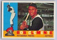 "1960  BOB CLEMENTE - Topps ""REPRINT"" Baseball Card # 326 - PITTSBURGH PIRATES"