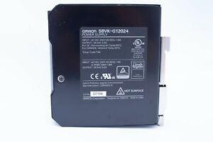 Omron Power Supply Switch Mode DIN Rail S8VK-G12024 24VDC 5A