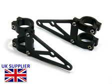 Headlight Brackets for Streetfighter Project - 33mm Black Fork Mounted