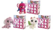 TIC TAC TOY XOXO Set Of 3 Hugs Blind 6 Pack Plush Set White,Pink,Purple