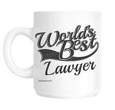 Lawyer World's Best Novelty Gift Mug shan1003
