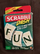 Scrabble Dash Card Game - Mattel - free shipping