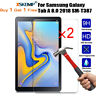 2x TEMPERED GLASS Screen Protector for Samsung Galaxy Tab A E 3 4 Lite J S S2 S3