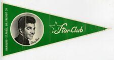 Joey Dee 1960s Star Club Germany Original Promotional Pennant