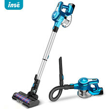 INSE 23KPa Cordless Stick Vacuum Cleaner Stick Handheld Vacuum 250W 2-in-1 brush