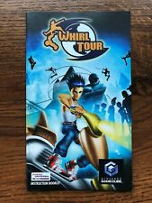 Whirl Tour Nintendo Gamecube Instruction Manual Only