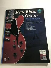 Real Blues Guitar Book With CD by Kenn Chipkin B12