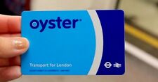 London Travel Oyster Card For Buses Subway Metro Pass & Free £6 Travel Credit UK