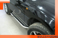 TOYOTA RAV4 I 1994-2000 MARCHE-PIEDS INOX PLAT / PROTECTIONS LATERALES
