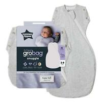 Tommee Tippee Grobag Newborn Snuggle Baby Sleep Bag - 0-4m, 1.0 Tog - Grey Marl