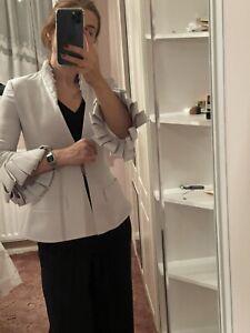 Safiyaa Designer Blazer Stone Uk 36